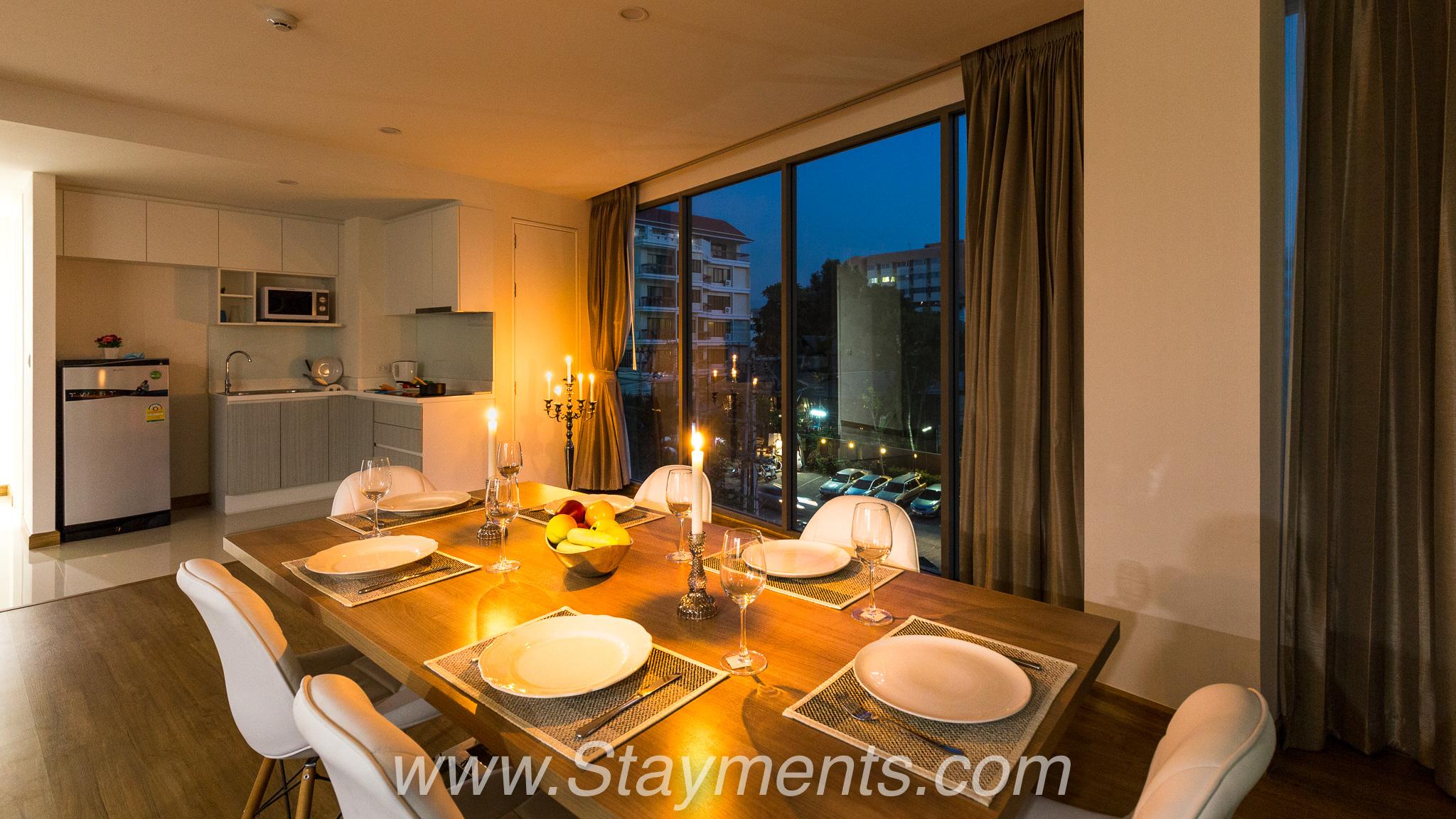 Modern 2 Bedroom Condo in the Best Location on Nimmanhaemin.