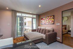 Modern and Spacious 1 Bedroom Condo at the Unique Condominium.