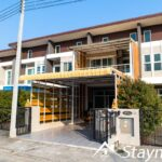 Two bedroom townhouse for rent in San Kamphaeng.