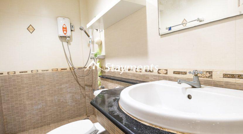 second floor bathroom - house for sale in Nimman