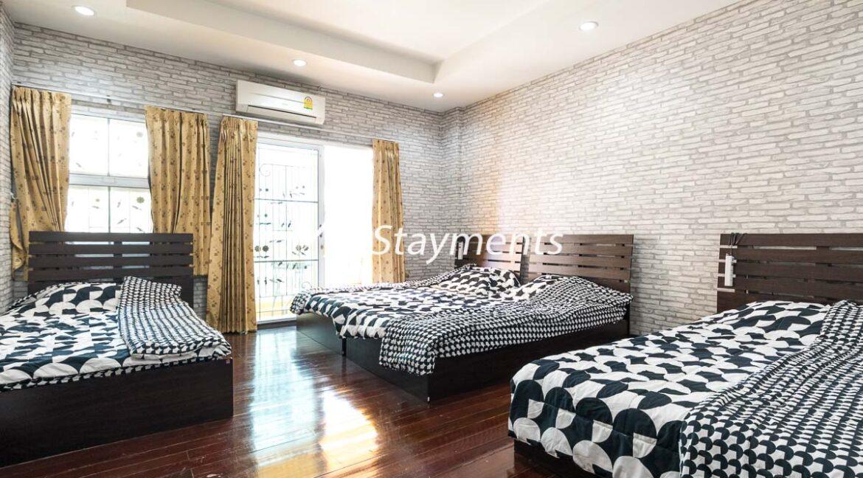 Third floor bedroom - house for sale in Nimman