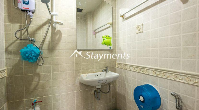 1 of 2 third floor bathrooms - house for sale in Nimman