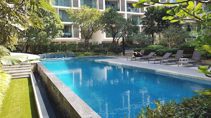 condo for rent at the nimmana with swimming pool