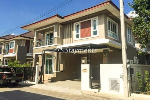 Four Bedroom Brand New House for Sale in San Kamphaeng.