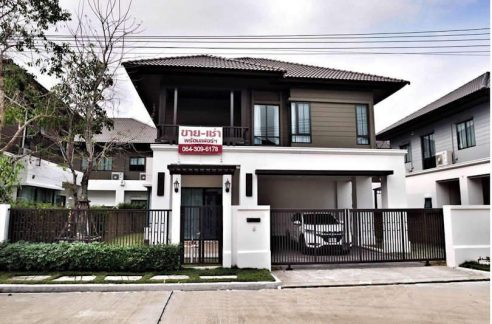 modern house for rent in sansai chiang mai