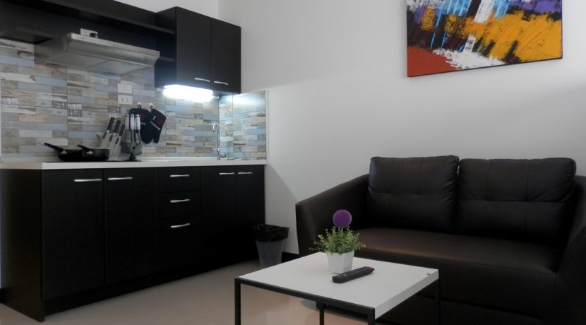 studio condo for rent with modern living space