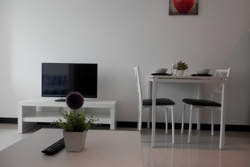 studio condo for rent with modern designed living space