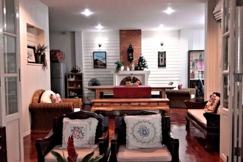 house for rent santitham living room-3