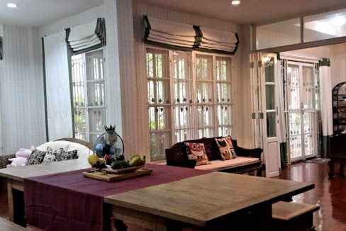 house for rent santitham living room-4