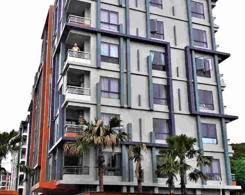 the next condo chiang mai for sale exterior looks
