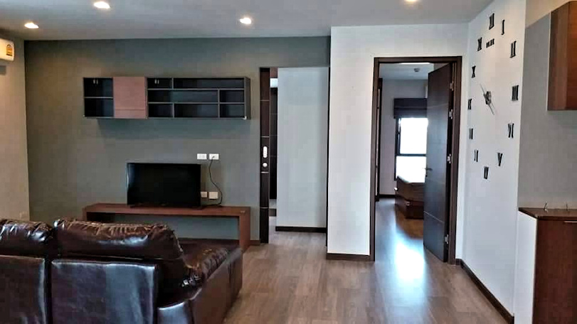 the next condo chiang mai for sale living room-1