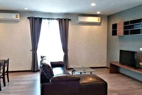 the next condo chiang mai for sale living room-2