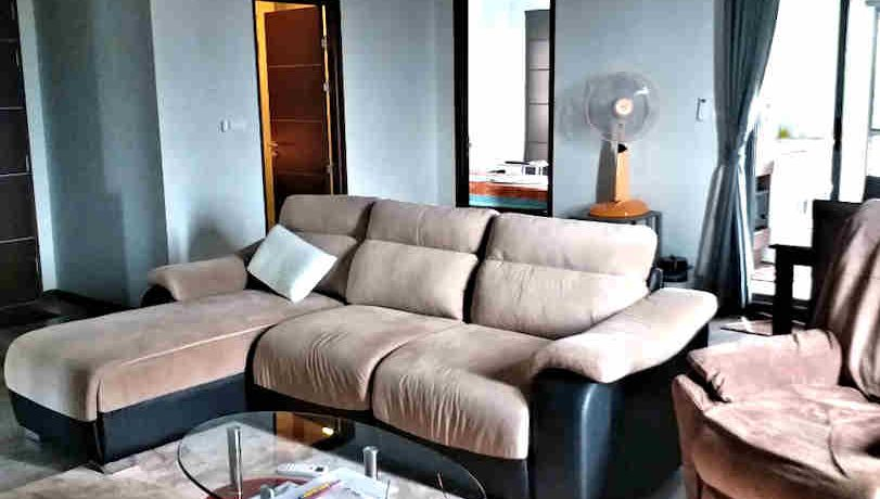 the next condo chiang mai for sale living room-4