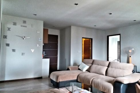 the next condo chiang mai for sale living room-5