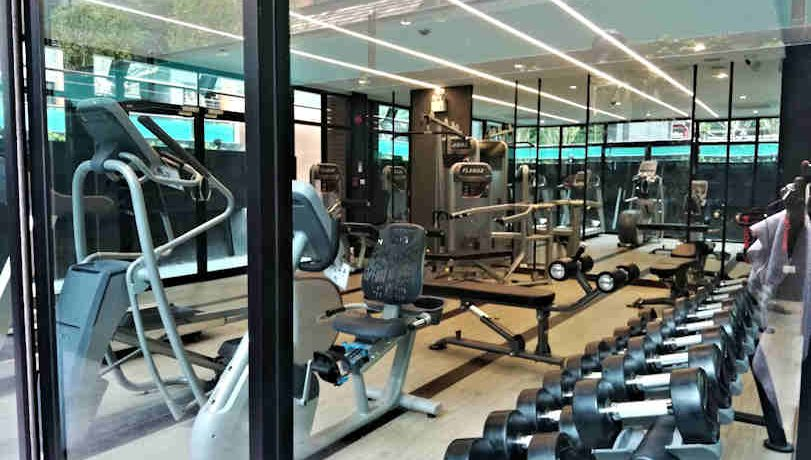 the escent condo with gym