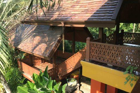 Lanna thai style house for rent exterior-1