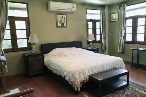 Lanna thai style house for rent in chiang mai-13