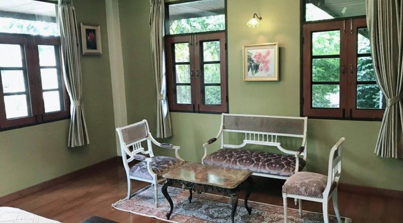 Lanna thai style house for rent in chiang mai-16