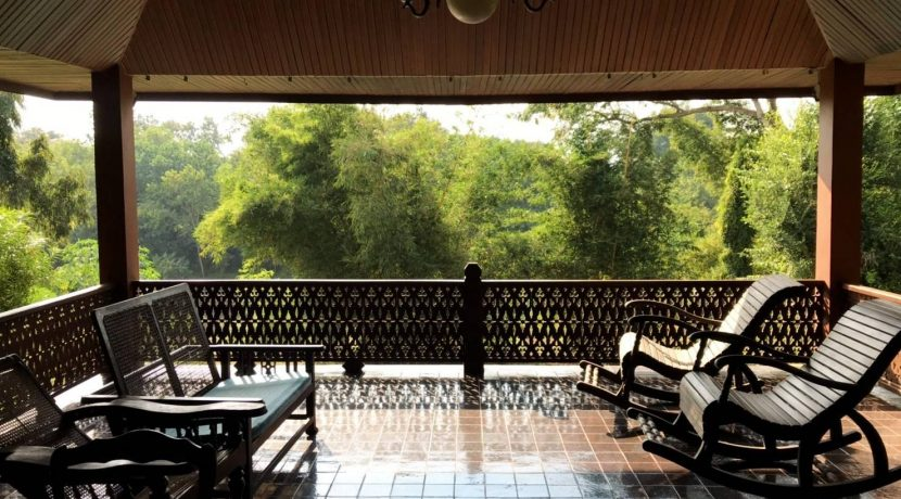 Lanna thai style house for rent in chiang mai-19