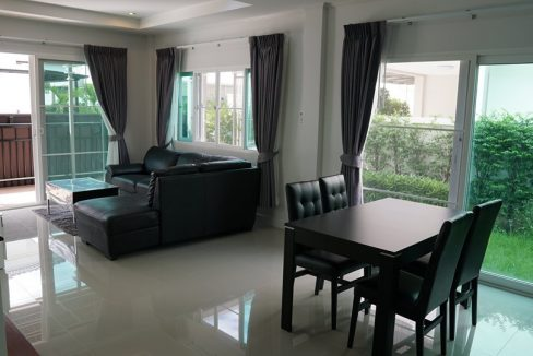 two storey house for rent in mae hia 6
