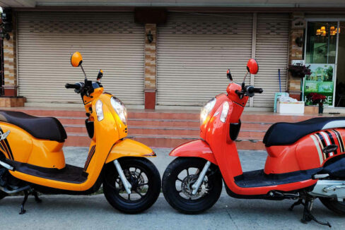 Honda Scoopy 110 cc Scooter For Rent in Chiang Mai