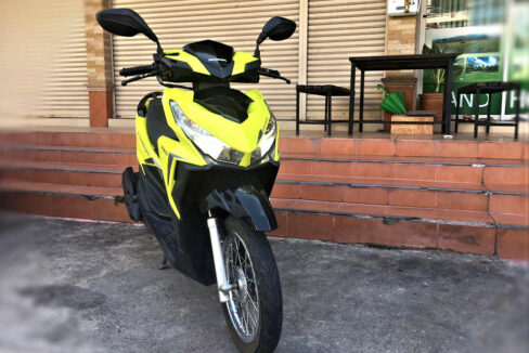Honda Click 125 cc LED for rent in Chiang Mai