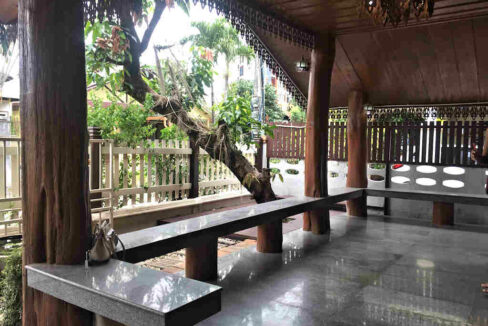 Three Bedroom Thai Lanna Style House For Rent