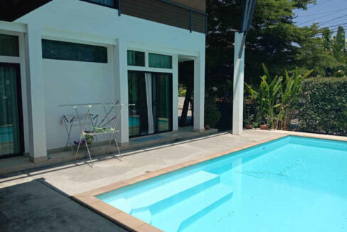 Three Bedroom Pool Villa For Rent Near Panyaden