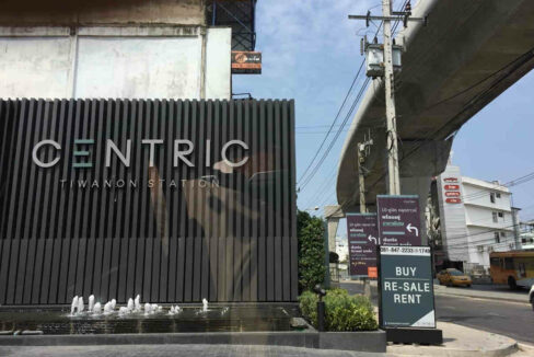 1 Bedroom Condo For Sale And Rent Centric Tiwanon