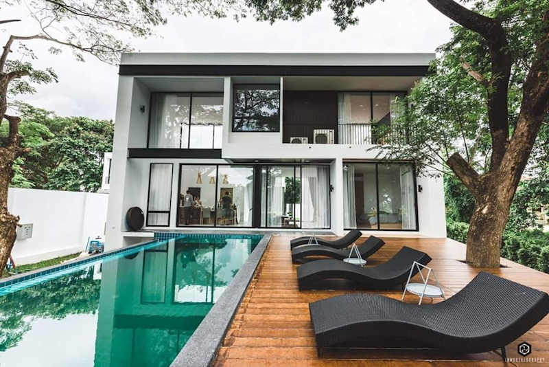 luxury pool villa for sale in hang dong chiang mai 13