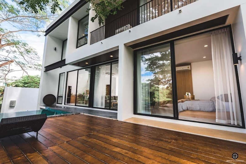 luxury pool villa for sale in hang dong chiang mai 14