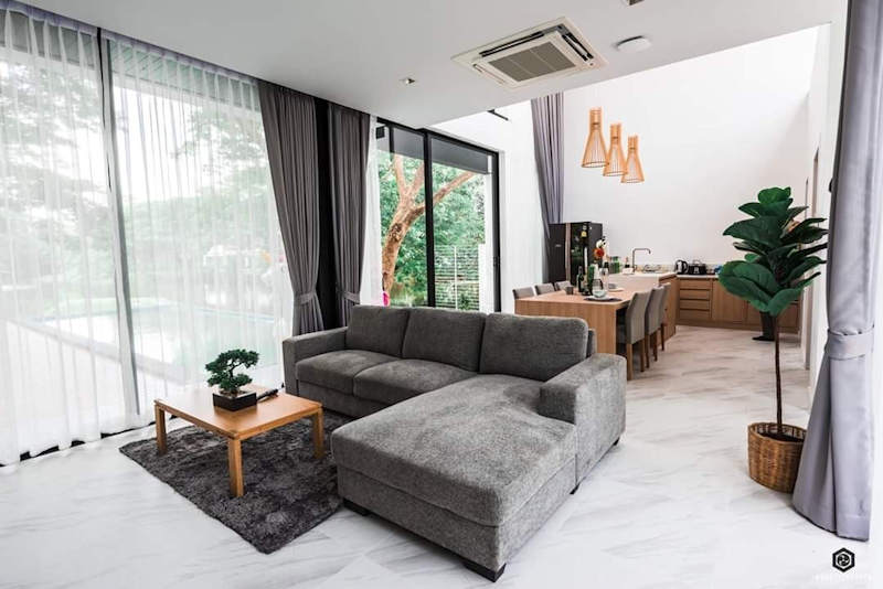 luxury pool villa for sale in hang dong chiang mai 21