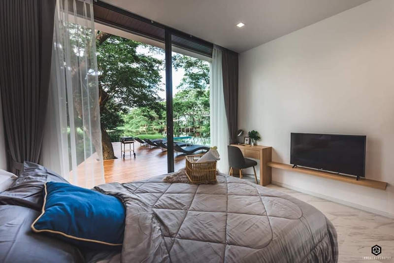 luxury pool villa for sale in hang dong chiang mai 22