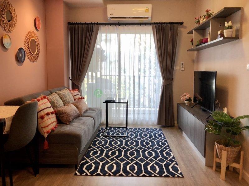 Studio for rent at D condo Rin 10