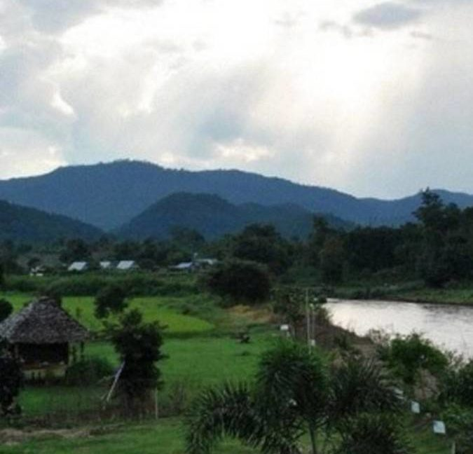 great land plot for sale in pai 17