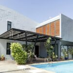 Modern four bedroom pool villa for rent and sale