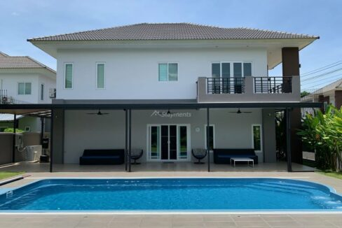 Four Bedroom pool villa for sale At Sansaran Mod Chic