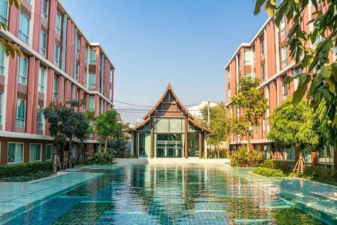 1 Bedroom Condo for rent @ D'Vieng in Santitham