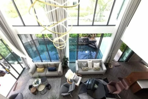 6 Bedroom Brand New Luxurious Pool Villa For Sale In San Sai